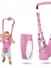 กระเป๋าจูงลูกหัดเดิน สีชมพู