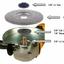 Kutzall Extreme Shaping Dish -Medium, Tungsten Carbide Coating - แผ่นคาร์ไบด์ขัดไม้ชนิดหยาบปานกลาง thumbnail 5