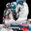 "Bosch GCM12GDL - เลื่อยตัดองศาสไลด์ 12"" พร้อมเลเซอร์นำทางเส้นคู่ thumbnail 1"