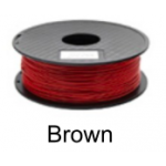 เส้นพลาสติค PLA ขนาด 1.75 มม. ขนาด 1 กก. (1.75mm PLA filament-1kg.) - BROWN
