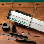 "VRS Vacuum and Router Support for the Leigh Dovetail Jigs, 12"" ชุดสำหรับรองรับเร้าเตอร์ และดูดฝุ่นสำหรับจิ๊ก 12 นิ้ว (Made in Canada) * ส่งมอบใน 20 วัน"