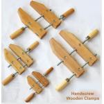 SIT BHWC000400 - 4-inch Beech Handscrew Wooden Clamps - แคล้มป์ไม้มือหมุนไม้บีขขนาด 4 นิ้ว