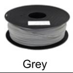 เส้นพลาสติค PLA ขนาด 1.75 มม. ขนาด 1 กก. (1.75mm PLA filament-1kg.) - GREY