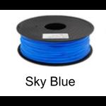 เส้นพลาสติค PLA ขนาด 1.75 มม. ขนาด 1 กก. (1.75mm PLA filament-1kg.) - SKY BLUE