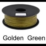 เส้นพลาสติค PLA ขนาด 1.75 มม. ขนาด 1 กก. (1.75mm PLA filament-1kg.) - GOLDEN GREEN