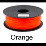 เส้นพลาสติค PLA ขนาด 1.75 มม. ขนาด 1 กก. (1.75mm PLA filament-1kg.) - ORANGE