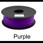 เส้นพลาสติค PLA ขนาด 1.75 มม. ขนาด 1 กก. (1.75mm PLA filament-1kg.) - PURPLE