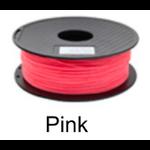 เส้นพลาสติค PLA ขนาด 1.75 มม. ขนาด 1 กก. (1.75mm PLA filament-1kg.) - PINK