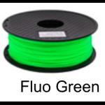 เส้นพลาสติค PLA ขนาด 1.75 มม. ขนาด 1 กก. (1.75mm PLA filament-1kg.) - FLUORESCENT GREEN