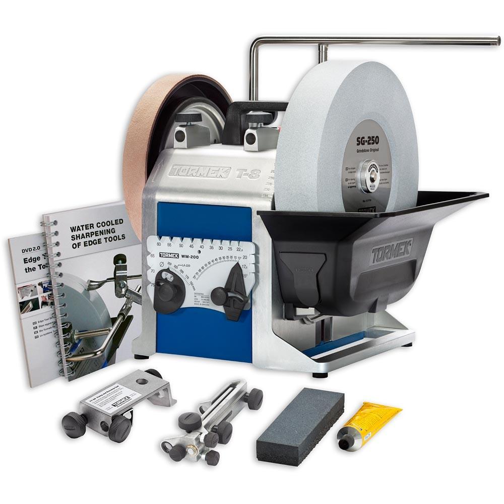 "(Pre-Order) TORMEK T8 10"" Wetstone Sharpening System - เครื่องมือลับคมแบบหล่อเย็นด้วยน้ำ (SWEDEN)"
