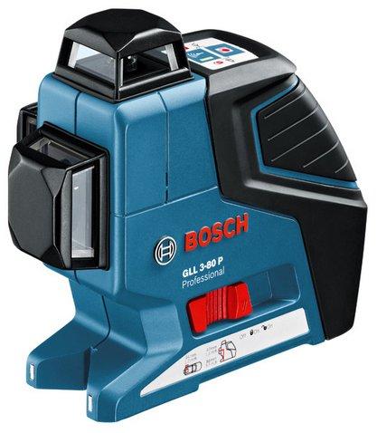 BOSCH GLL3-80 เครื่องถ่ายระดับเลเซอร์ BOSCH รุ่น GLL3-80 (กล่องพลาสติค) New 2018 - 0601063S00
