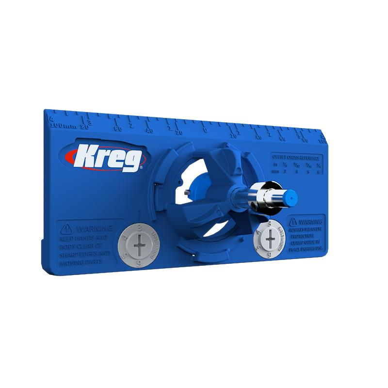 KREG 35mm. Concealed Hinge Jig - จิ๊กเจาะรูบานพับถ้วยขนาด 35มม. KHI-HINGE