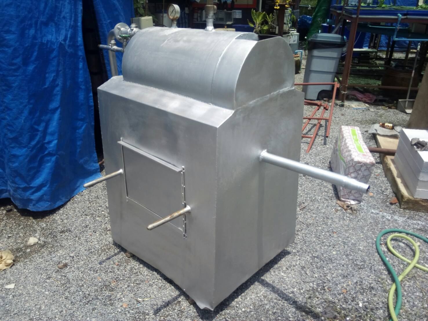 หม้อนึ่งโคตรร้อน รุ่นซุปเปอร์ฮีท(Super Heat Boiler)