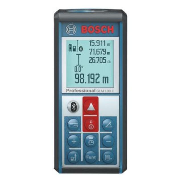 BOSCH GLM100C เครื่องวัดระยะด้วยเลเซอร์ไกล 100ม. BOSCH รุ่น GLM100C - 06010727K0
