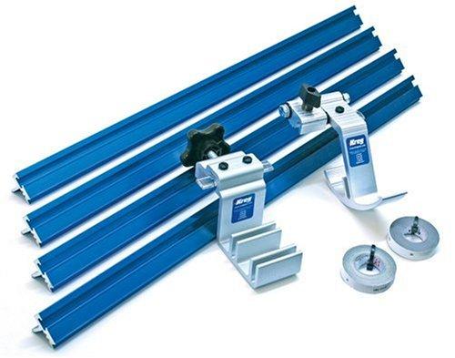 KREG KMS8000 Precision Track & Stop Miter Saw (Imperial) Kit- ชุดคิทรางและตัวหยุดไม้สเกลนิ้ว