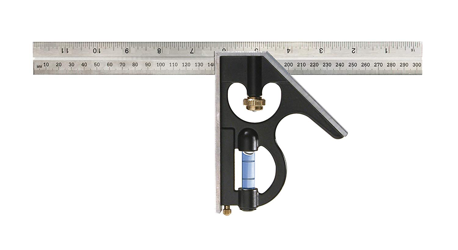 Empire E250IM Heavy Duty Professional Combination Square, 12-Inch (300 mm.) - ฉากผสม ยาว 12นิ้ว 300 มม.)