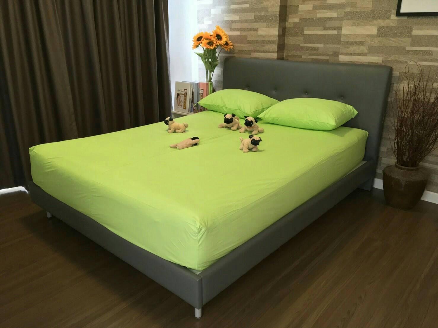 ชุดเช็ตผ้าปูที่นอนกันเปื้อน ขนาด 3.5 ฟุต