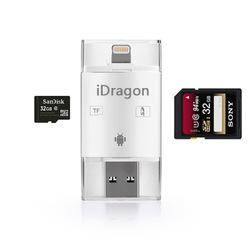 USB Card Reader Micro SDHC อะแดปเตอร์ SD การ์ดสำหรับ iPhone