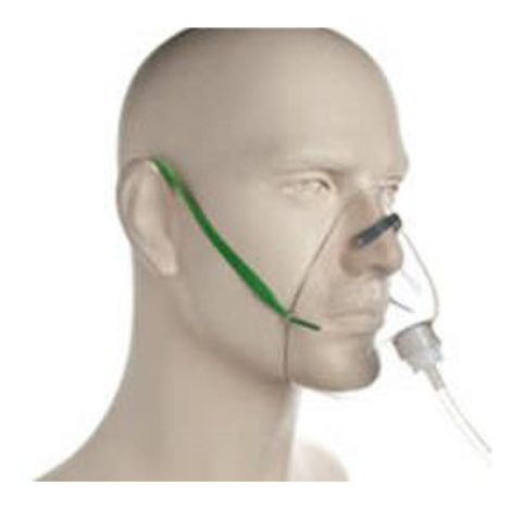 Oxygen mask with out bag ผู้ใหญ่
