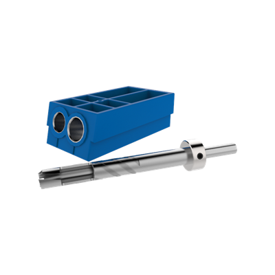 KREG Custom Pocket-Hole Plug Cutter- ชุดเจาะปลั๊กไม้อุดรูเจาะ เอียง