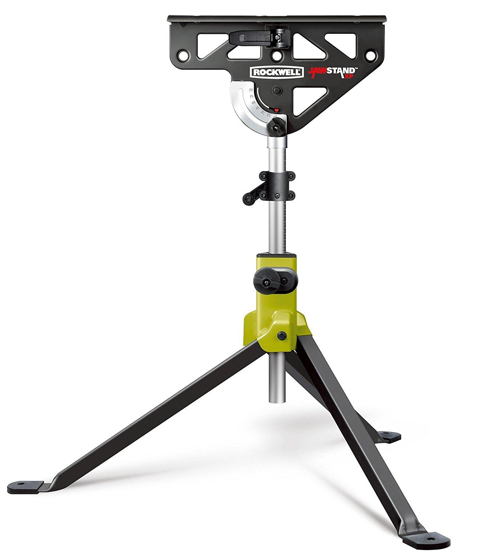 ROCKWELL- RK9034 JawStand XP Portable Work Support Stand - สามขาสำหรับยึดจับงานไม้ งานบ้าน สารพัดประโยชน์จาก Rockwell U.S.A.
