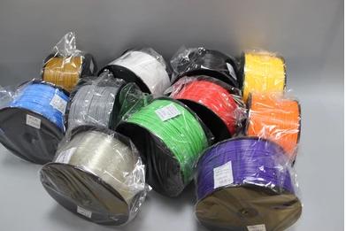 เส้นพลาสติค PLA มาตรฐาน ขนาด 1.75 มม. ม้วนละ 1 กก. (1.75mm Standard PLA filament- 1kg.)