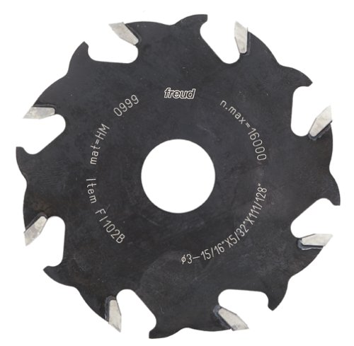 FREUD FI102 4-Inch 8 Tooth Blade for Biscuit Joiners - ใบตัดสำหรับเครื่องเจาะแผ่นบิสกิต U.S.A.(Made in Italy)