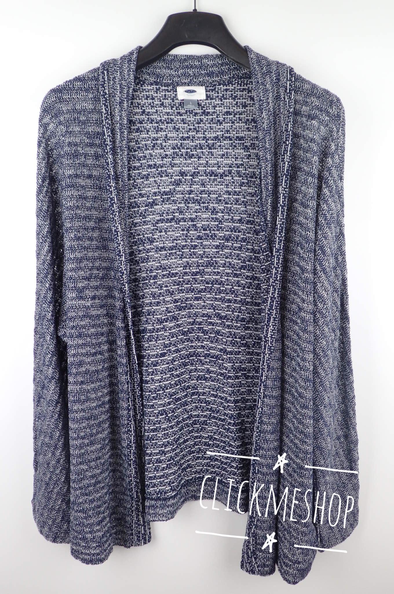 (size L หน้าอก 44-46 นิ้ว ) เสื้อคลุม Oldnavy สีน้ำเงิน ใส่คลุมสบายๆ น่ารักคะ