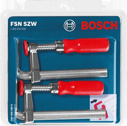 Bosch FSN SZW (G-clamps) Professional (ชุดแคล้มสำหรับรางเลื่อยราง FSN) - 1600Z0000B