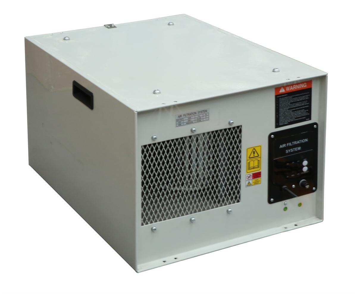 เครื่องกรองฝุ่นในอากาศสำหรับช็อปงานไม้ขนาด 1044CFM - Air Filtration System