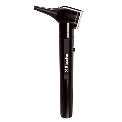 ชุดตรวจหู E-scope F.O. otoscope Black LED 3.7V