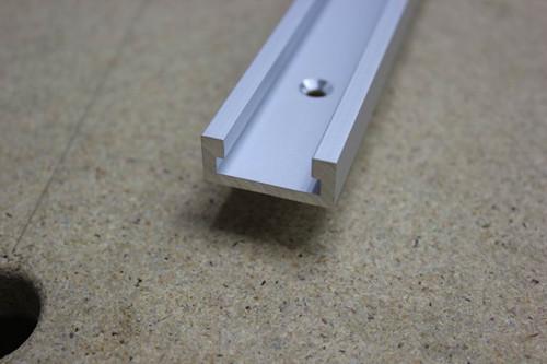 W-NEW Aluminum Miter Slots รางอลูมิเนียม Miter สำหรับงานไม้