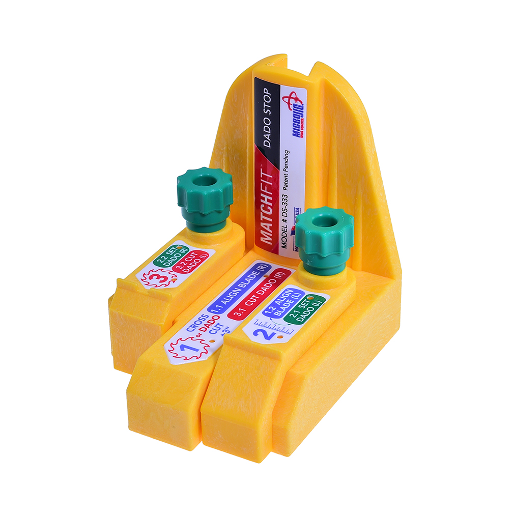 MicroJig MATCHFIT Dado Stop - จิ๊กช่วยตัดร่องไม้ (Dado)