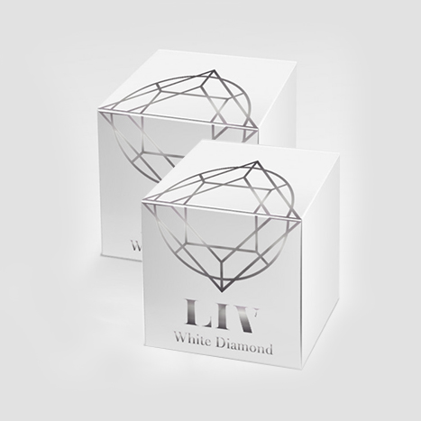 Liv White Diamond Skin 2กระปุก