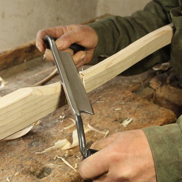NAREX 8905xx Curved Drawknife - มีดเหลาไม้แบบใบมีดโค้ง มี 3 ขนาด 200มม. 240มม. และ 280มม.