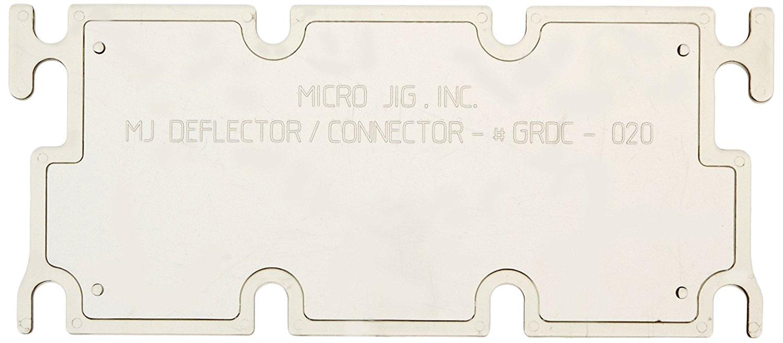 MicroJig GRR-Ripper Deflector/ Connector - ตัวป้องกันเศษฝุ่น เศษไม้กระเด็นเข้าตาสำหรับตัวพาไม้ GRR-Ripper