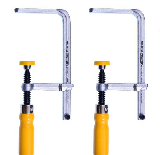 MicroJig MATCHFIT Dovetail Clamps -แคล้มป์แขนยึดทรงหางเหยี่ยว 2 อัน/ชุด