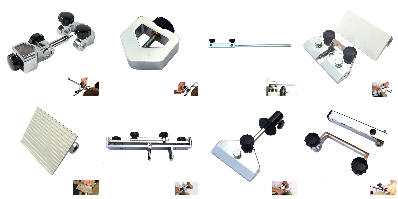 จิ๊กสำหรับเครื่องมือลับคมด้วยน้ำ - Grinder Jig Set for Whetstone Sharpening System