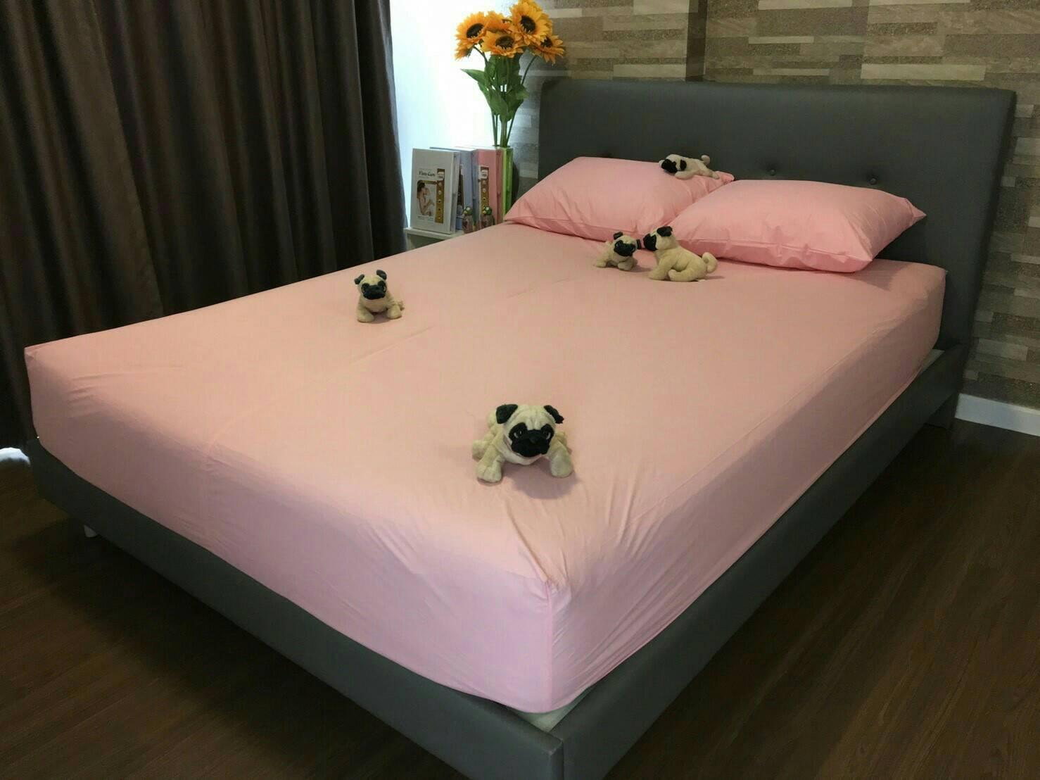 ชุดเซ็ตผ้าปูที่นอนกันเปื้อน 6-5 ฟุต