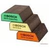 ฟองน้ำขัด Bosch รุ่น Profile (แพ็ค 3 ชิ้น) - Abrasive Sponge Set - Blue (3-Piece) - 2608621252