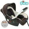 [สีเบจ] คาร์ซีท กระเช้า Fico รุ่น HB801 [สำหรับเด็กอายุ 0-15 เดือน]