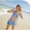 [พร้อมส่ง]Beachwear-307 เสื้อคลุมผ้าตาขายลายสวย