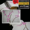 สติ๊กเกอร์ วอลเปเปอร์ลายดอกไม้ ญี่ปุ่น