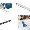 Bosch GKT55GCE Professional Track Saw- 2.7m set (ชุดเลื่อยรางบ๊อช พร้อมราง 1.6 ม. และ 1.1 ม. ขนาดละเส้น (ยาวรวม 2.7 ม.) พร้อมตัวต่อราง และกล่องใส่เลื่อย L-Boxx)