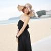 [พร้อมส่ง]Beachwear-41 บีชแวร์ เดรสยาว ผ้าซีทรูสีดำสวยๆ