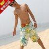 [พร้อมส่ง]BeachMan-433 กางเกงขาสั้นชาย เนื้อผ้าชุดว่ายน้ำ ใส่ลงเล่นน้ำในสระว่ายน้ำได้