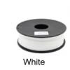 เส้นพลาสติค PLA ขนาด 1.75 มม. ขนาด 1 กก. (1.75mm PLA filament-1kg.) - WHITE