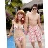 [พร้อมส่ง]BeachMan-009 กางเกงขาสั้นผู้ชาย เนื้อผ้าชุดว่ายน้ำ ใส่ลงเล่นน้ำในสระว่ายน้ำได้