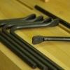 Forged holdfast - เหล็กแคล้มป์ยึดไม้อเนกประสงค์สำหรับโต๊ะงานไม้