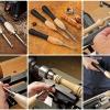 Rockler - มีดกลึงปลายคาร์ไบด์ขนาดเล็ก ชุด3เล่ม (Carbide Mini Turning Tool -3 piece set) USA